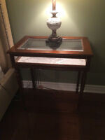 Antique jewellery table / night table / end table