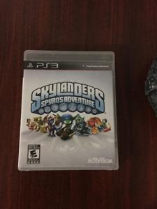 Skylanders Spyro's Adventure ps3 game disc