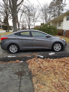 2013 Hyundai Elantra GL (Manual Transmission)