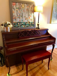 Lesage piano in good condition,suitable for beginner