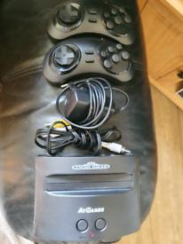 Sega Mega Drive mini with built in games