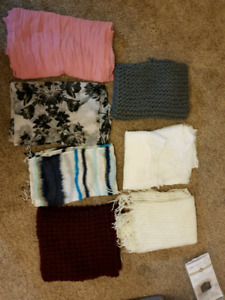 7 infinity scarves