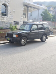 1999 Land Rover Discovery 4x4 M&S tires