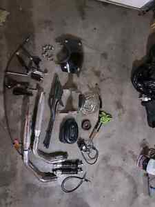 2005 sportster 883r factory parts