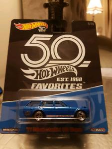 Hot wheels 50th favourites Datsun Bluebird 510 Wagon