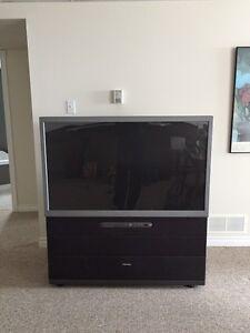 "FREE 50"" TV"
