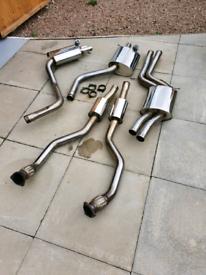 Audi RS5 4.2 scorpion exhaust
