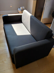 Ikea sofa solsta grey