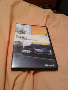 Microsoft Office Professional Edition 2003