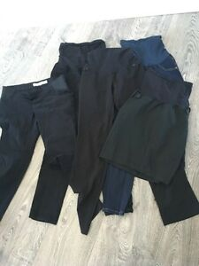 Lot of size small maternity bottoms