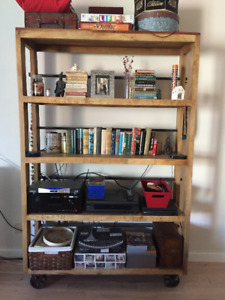 Really Cool Shelving Unit - Solid Wood
