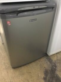 Hotpoint Silver under counter freezer