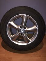 4 mags plus 4 Toyo winter tires 235/60/17