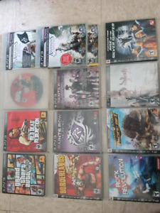 Various PS3 games, and accessories