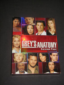 GREY'S ANATOMY The complete 4th season EXPANDED 5 disc DVD set