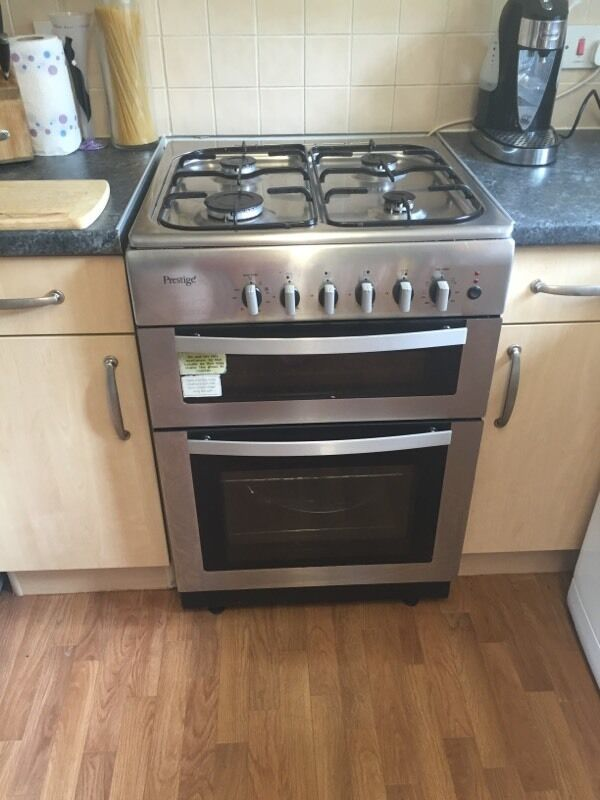 Prestige Dual Cookerin Leeds, West YorkshireGumtree - We are selling the oven as it came with the property however it doesnt get really hot, I have bought the element part and will include this I just dont have time to do it Will be getting disconnected on Wednesday Prestige PCD60SS 60cm stainless steel...