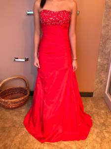 Red Italian Graduation Dress for Sale
