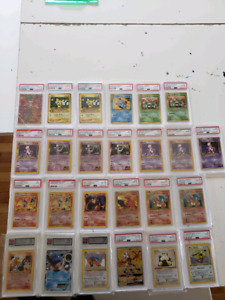 Big Pokemon Cards Collection Lot of Charizard Mewtwo pokemon
