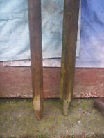 7 FENCE POST POINTED END