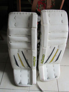 McKenney Goalie Pads 33+1, Blocker / Catcher – intermediate
