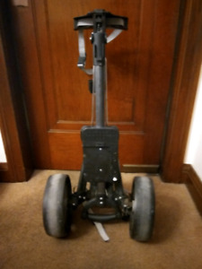 Spalding 2-wheel push pull caddy trolley in excellent shape.