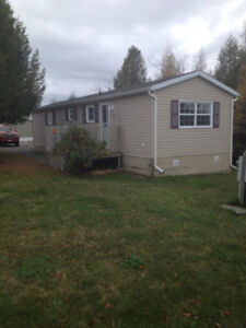 Many updates in this 2 bedroom, 1 bath, mini home in Quispamsis!
