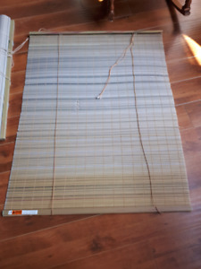 Roll window blinds 2 pieces