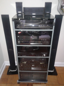 PANASONIC Home Theater System PLUS TECHNIC Stereo system in one