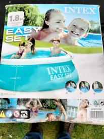Intex paddling pool