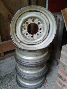 """Ford 16.5"""" X 8"""" Wheels Campbell River Comox Valley Area image 1"""