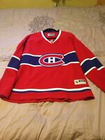 Women's Habs Jersey XXL Canadiens Hockey home Reebok NHL