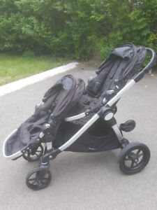 City Select Baby Jogger Double Stroller with Glider Board