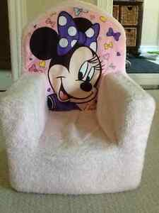 Minnie Mouse plush chair