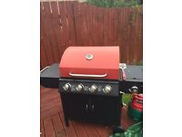 3 months old, used twice. 5 burner gas BBQ £120
