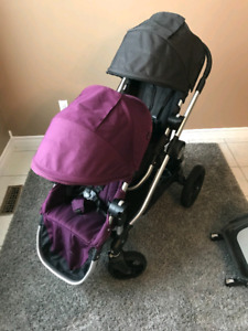 Poussette double Baby Jogger City Select + extras