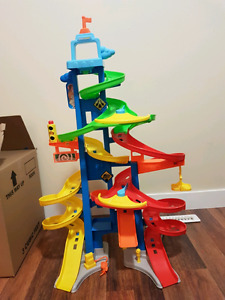 Little People Tower Car Track with others