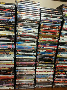 HUGE Lot of DVDs for Sale