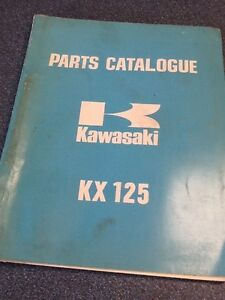 KX125 Parts Catalogue 1974 Edmonton Edmonton Area image 1