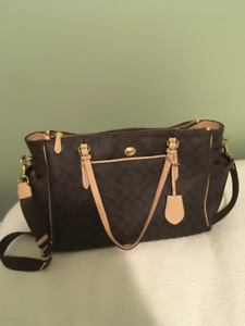 Coach Purse/Diaper/Travel Bag Brand New- never been used