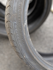 4 pneus d'été Continental ContiSportContact 255/35 ZR 19