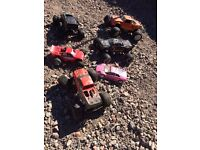 Job lot of nitro cars