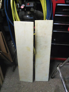 "Cutting boards in great shape 8"" X 36"" ---- $20 pair"