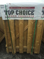 5' Shadow Box Fence Gates - NEW!!! Left over from job