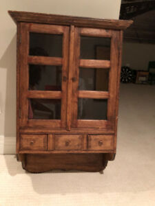 Antique Cabinet - Wall mounted