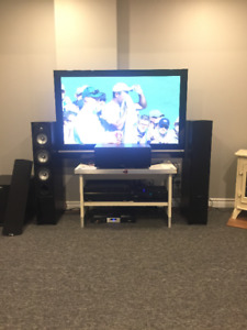 Energy Connoisseur 5.1 with Velodyne sub and Yamaha 7.1 Reciever