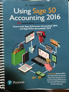 SAGE 50, Intermediate and Managerial Accounting, SMS 416 Seneca