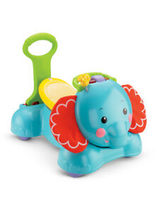 3-in-1 Bounce, Stride & Ride Elephant Fisher-Price
