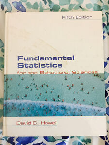 Fundamental Statistics for the Behavioral Sciences (5th ed.)
