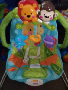 Fisher Price Bounce/Vibrating Baby Chair