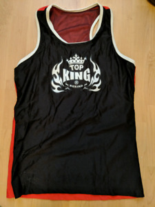 Top King women's boxing tank - brand new from Thailand